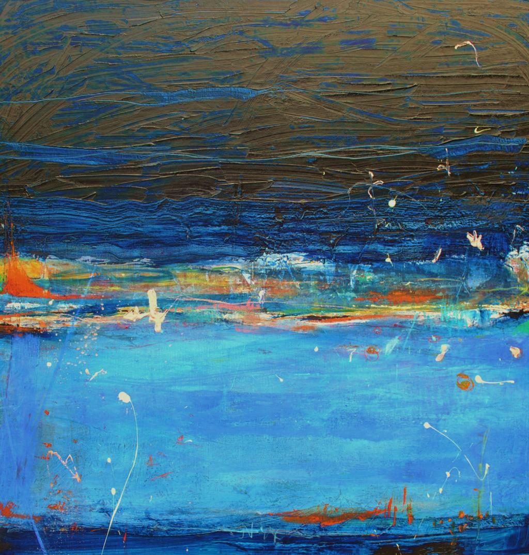 Rain On The Lake (Sold)