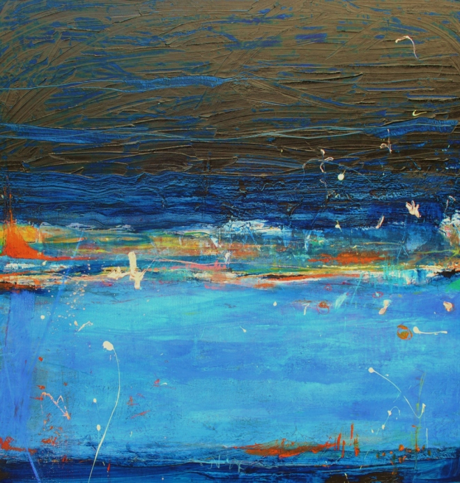 Rain On The Lake (Sold)