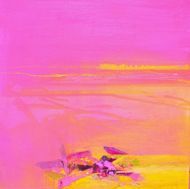 Pink and Yellow (Sold)